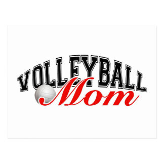 Volleyball Mom Post Card