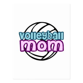 Volleyball Mom Postcard