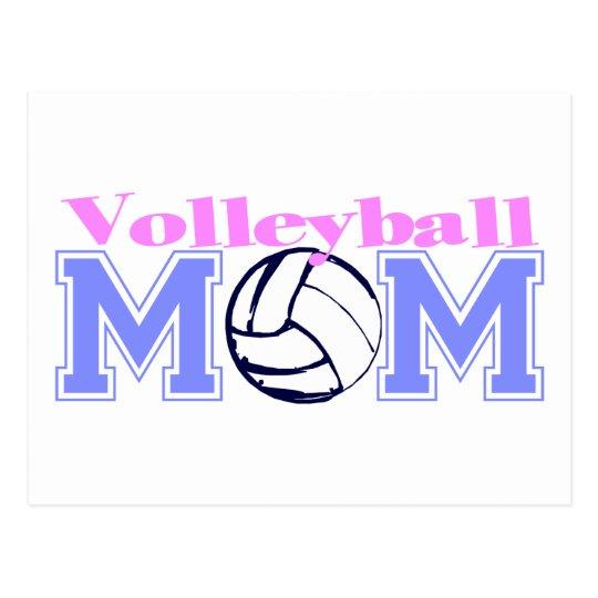 Volleyball Mom (Version B) Postcard