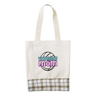 Volleyball Mom Zazzle HEART Tote Bag