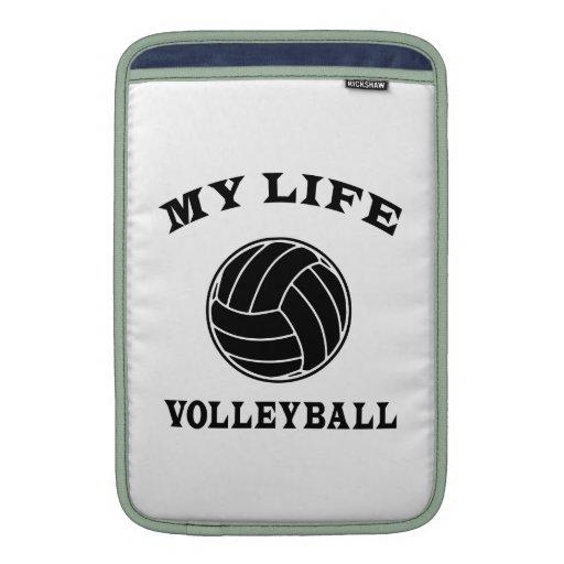 Volleyball My Life MacBook Sleeve