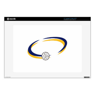 Volleyball Name Drop Laptop Skins