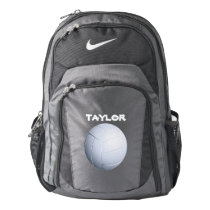 Volleyball Name Template Nike Backpack