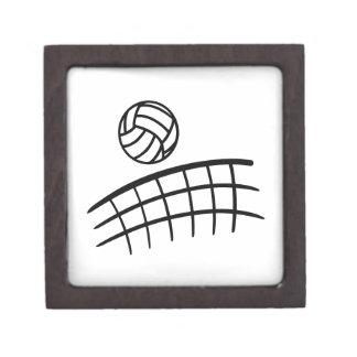 Volleyball net ball jewelry box