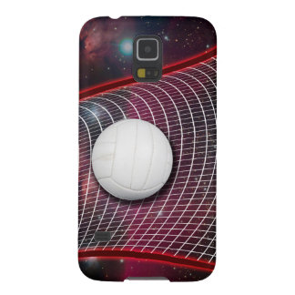 Volleyball net in space galaxy s5 cover
