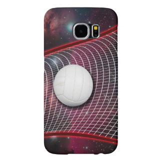 Volleyball net in space samsung galaxy s6 case