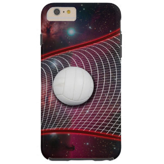 Volleyball net in space tough iPhone 6 plus case