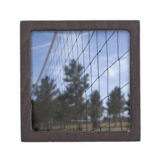 Volleyball net keepsake box
