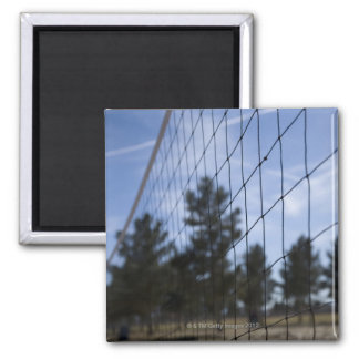 Volleyball net refrigerator magnet