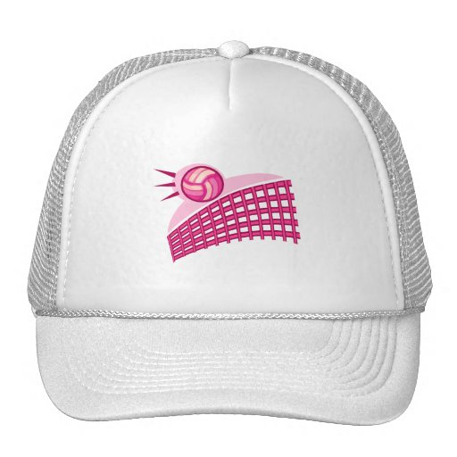 Volleyball & net mesh hats