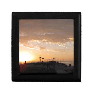 Volleyball Net Sunset Beach Gift Box