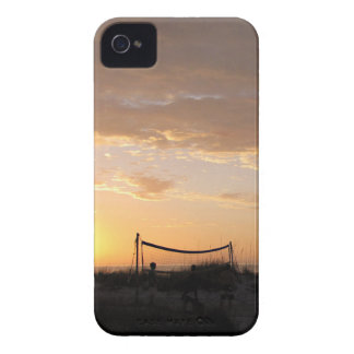Volleyball Net Sunset Beach iPhone 4 Case-Mate Case