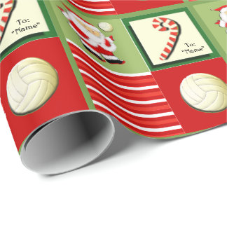 Volleyball Novelties Wrapping Paper