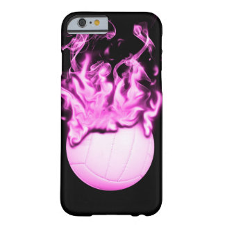 Volleyball on fire barely there iPhone 6 case