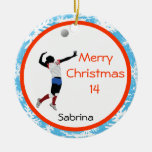 VolleyBall Ornament Personalize Server