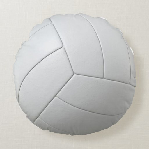 Volleyball Pillow Round Pillow Zazzle