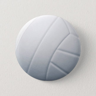 volleyball pinback button
