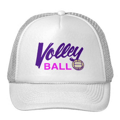 Volleyball (Pink) Hats