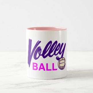 Volleyball (Pink) Mugs