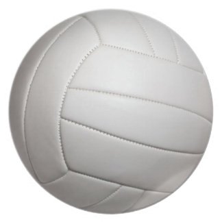 Volleyball Plate