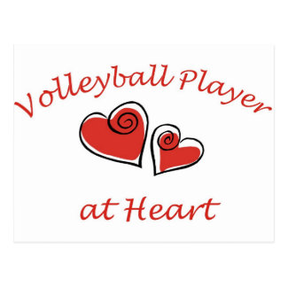Volleyball Player at Heart Postcard
