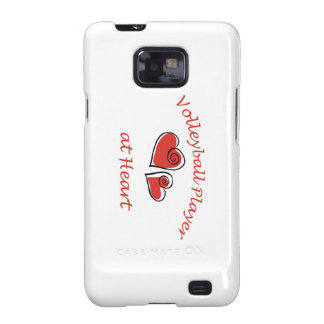 Volleyball Player at Heart Samsung Galaxy SII Case