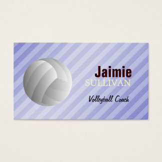 Volleyball Player Business Cards