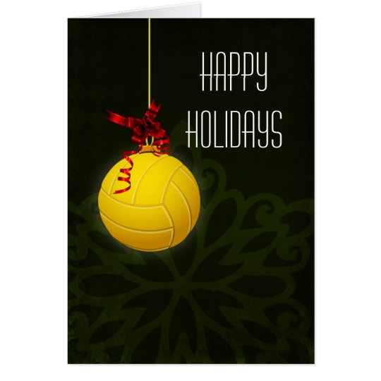 volleyball  player Christmas Cards