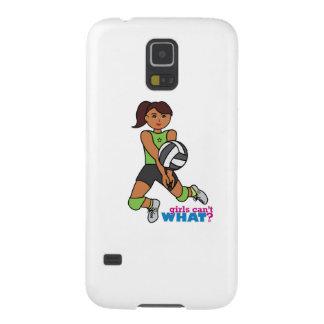 Volleyball Player - Dark Case For Galaxy S5