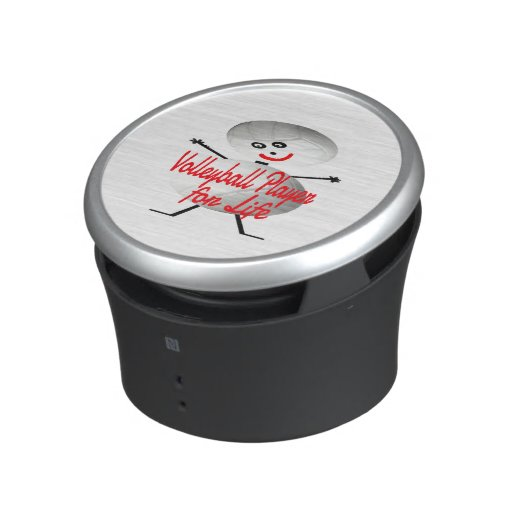 Volleyball Player for Life Cartoon Bluetooth Speaker