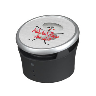 Volleyball Player for Life Cartoon Speaker