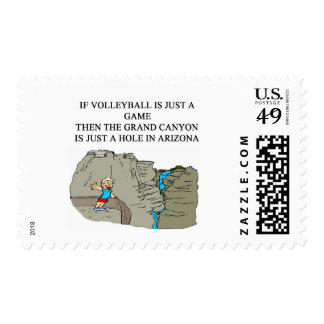 VOLLEYBALL player gifts t-shirts Postage Stamp