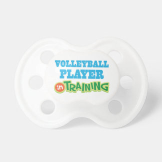Volleyball Player In Training Future Baby Pacifier