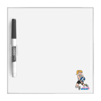 Volleyball Player - Light/Blonde Dry-Erase Whiteboards