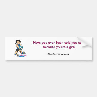 Volleyball Player - Medium Bumper Sticker