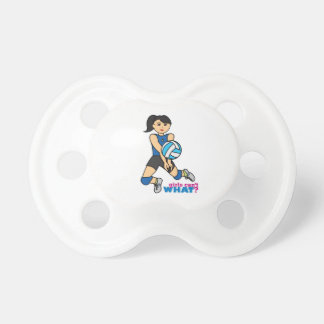 Volleyball Player - Medium Baby Pacifier