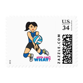 Volleyball Player - Medium Postage