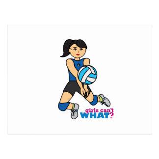 Volleyball Player - Medium Postcard