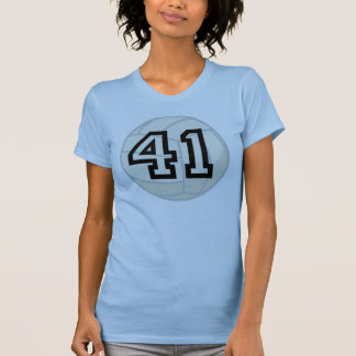 Volleyball Player Uniform Number 41 Gift T-shirts