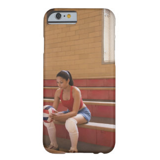 Volleyball player with volleyball barely there iPhone 6 case