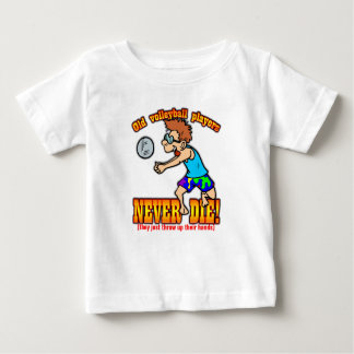 Volleyball Players Baby T-Shirt