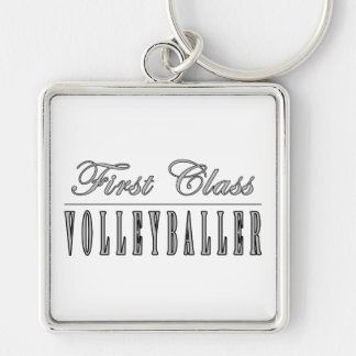 Volleyball Players : First Class Volleyballer Keychains