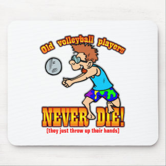 Volleyball Players Mouse Pad