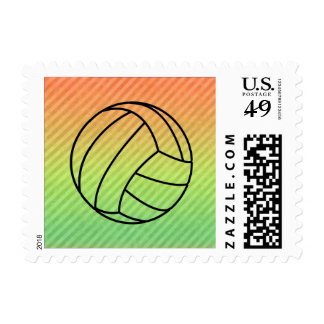 Volleyball; Postage Stamp