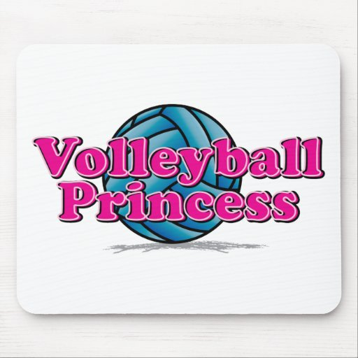 Volleyball Princess Mouse Pad