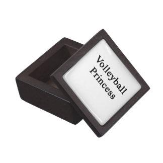 Volleyball Princess Premium Trinket Boxes