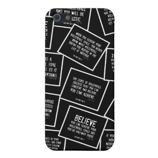 Volleyball Quotes iPhone 5 Case in Black and White