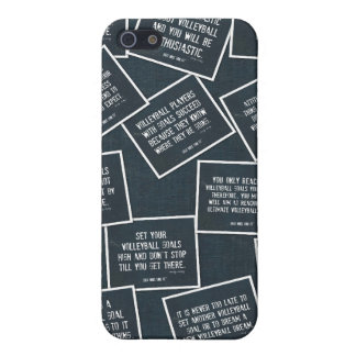 Volleyball Quotes iPhone 5 Case in Denim Blue