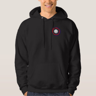 Volleyball Red Blue And White 1 Hoodie