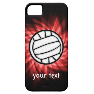 Volleyball; Red iPhone 5 Case